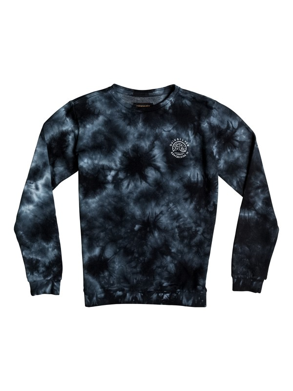 0 Earths Past - Sweat Noir EQBFT03231 Quiksilver