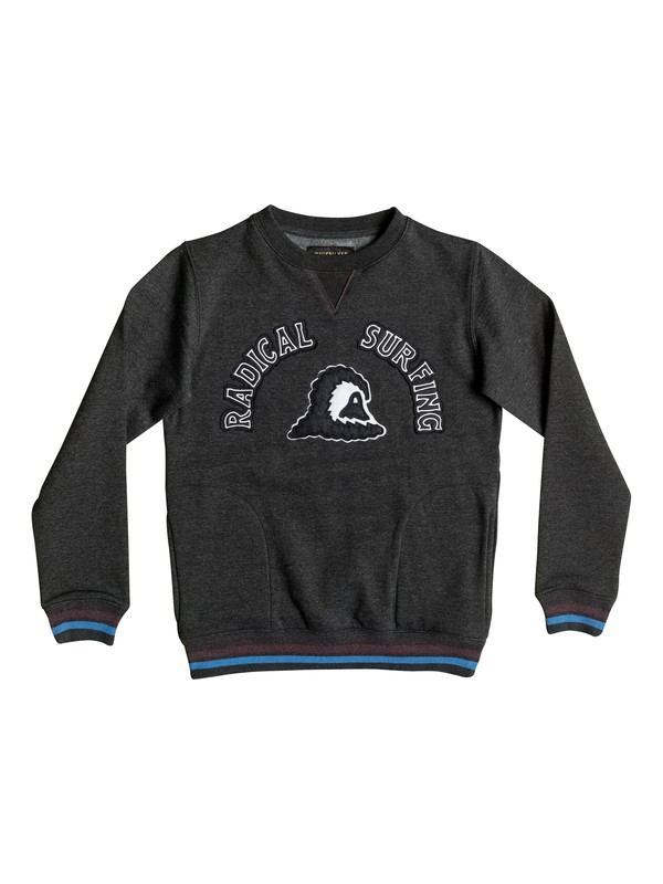 0 Radical Surfing - Sweat Noir EQBFT03232 Quiksilver