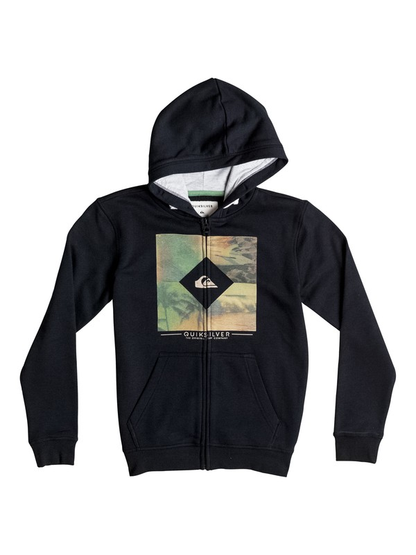 0 Boy's 8-16 Diamond Day Zip-Up Hoodie  EQBFT03235 Quiksilver