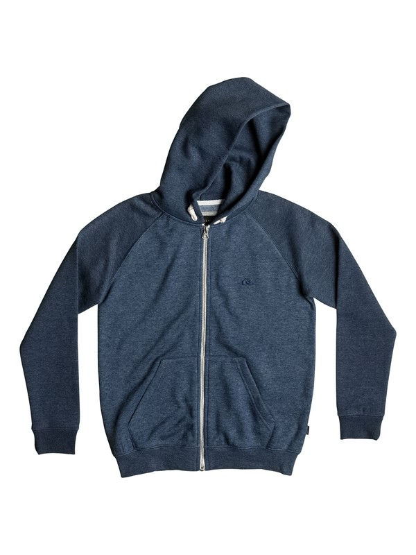 0 Everyday - Sweat à capuche zippé Bleu EQBFT03259 Quiksilver