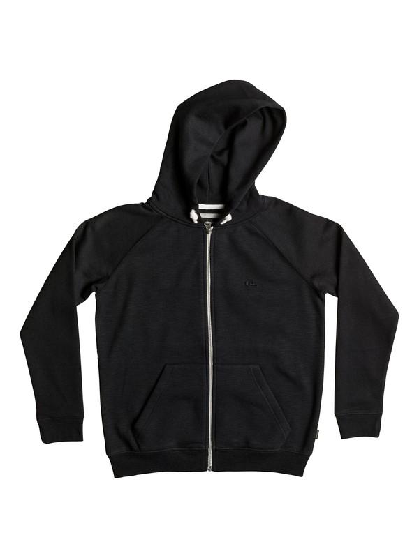 0 Everyday - Sweat à capuche zippé Noir EQBFT03259 Quiksilver