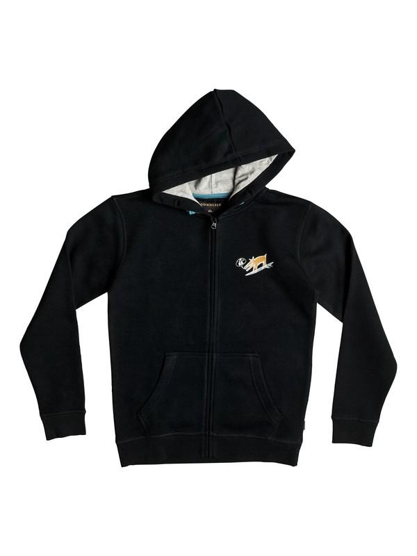 0 Dogy Surf - Sweat à capuche zippé Noir EQBFT03288 Quiksilver