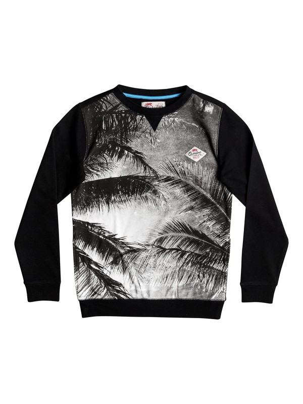0 Grab And Go - Sweatshirt Schwarz EQBFT03317 Quiksilver
