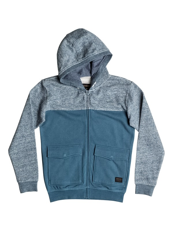 0 Civil Aire - Zip-Up Hoodie  EQBFT03337 Quiksilver