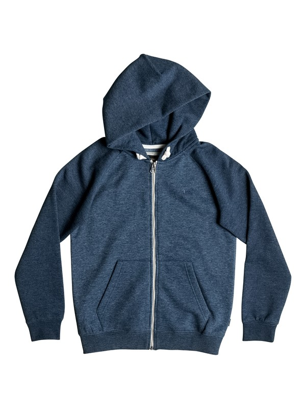 0 Everyday - Sweat à capuche zippé Bleu EQBFT03348 Quiksilver