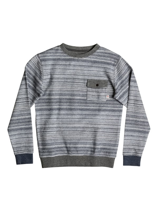 0 Carson Threes - Sweat  EQBFT03349 Quiksilver
