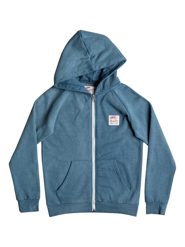 0 Culver Crest - Sudadera con capucha y cremallera Azul EQBFT03350 Quiksilver