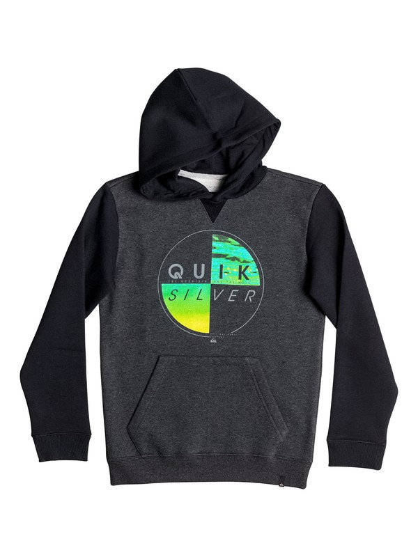 0 Of The Wood - Sweat à capuche Noir EQBFT03357 Quiksilver