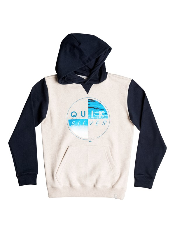 0 Of The Wood - Hoodie White EQBFT03357 Quiksilver