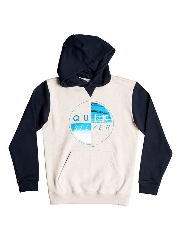0 Of The Wood - Sweat à capuche Blanc EQBFT03357 Quiksilver