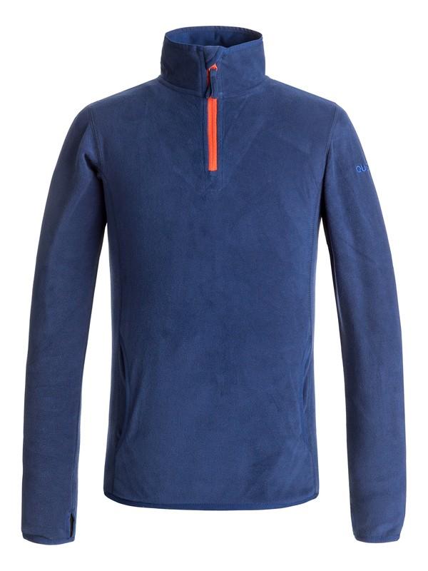 0 Aker - Half-Zip Technical Fleece Blue EQBFT03366 Quiksilver