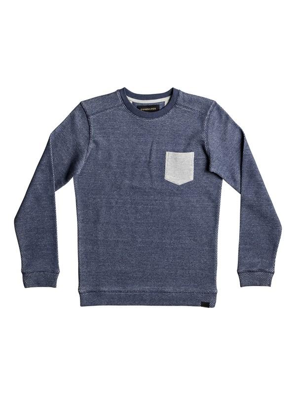 0 Rantau - Sweatshirt Blue EQBFT03370 Quiksilver