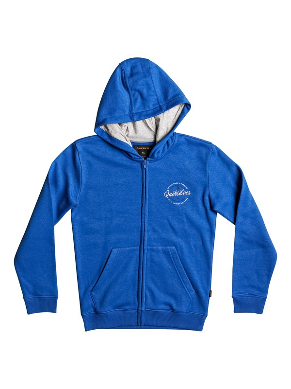 0 Jumja - Sweat à capuche zippé Bleu EQBFT03373 Quiksilver
