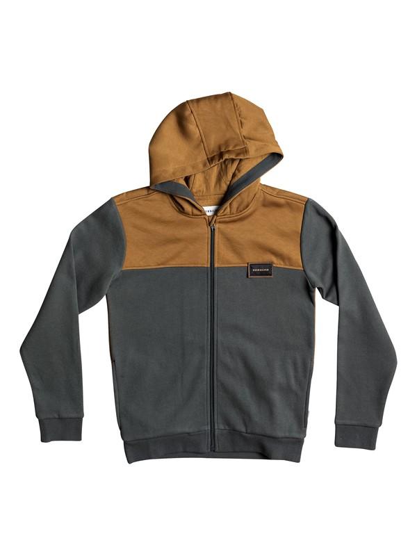 0 Thazi - Zip-Up Hoodie Black EQBFT03375 Quiksilver