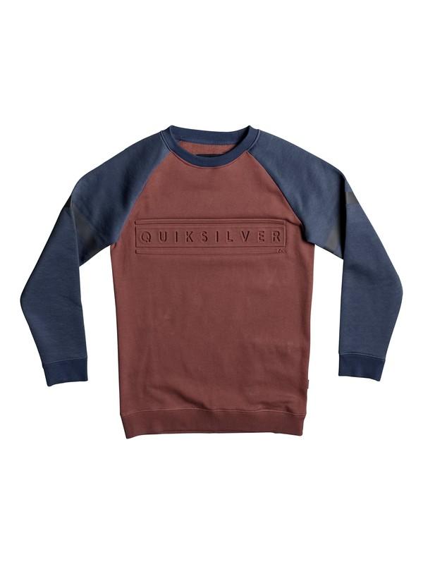 0 Mebok - Länger geschnittenes Sweatshirt  EQBFT03380 Quiksilver