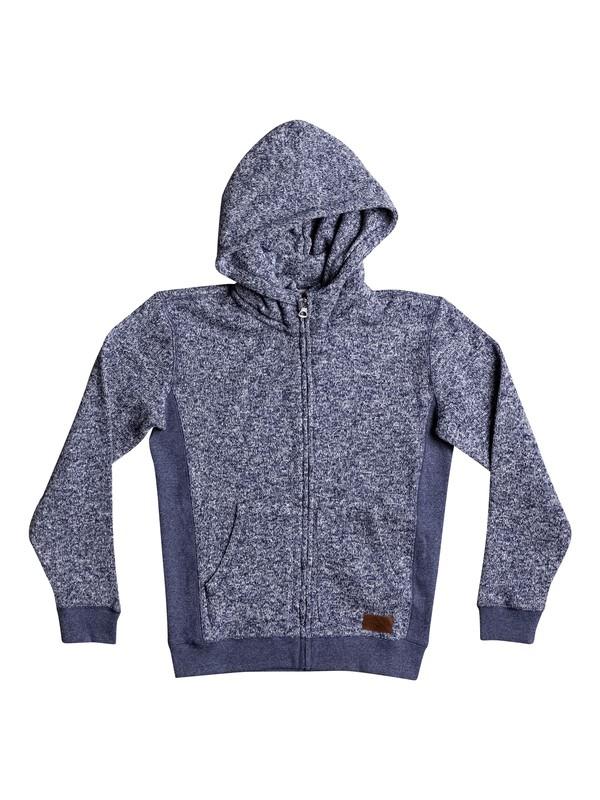 0 Boy's 8-16 Keller Zip-Up Hoodie Blue EQBFT03388 Quiksilver