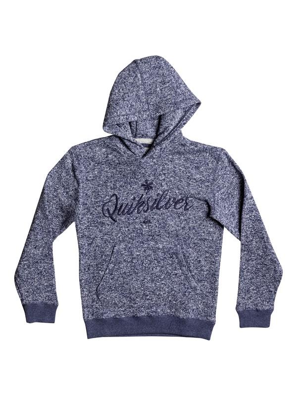 0 Keller - Polar Fleece Sweatshirt Blue EQBFT03391 Quiksilver