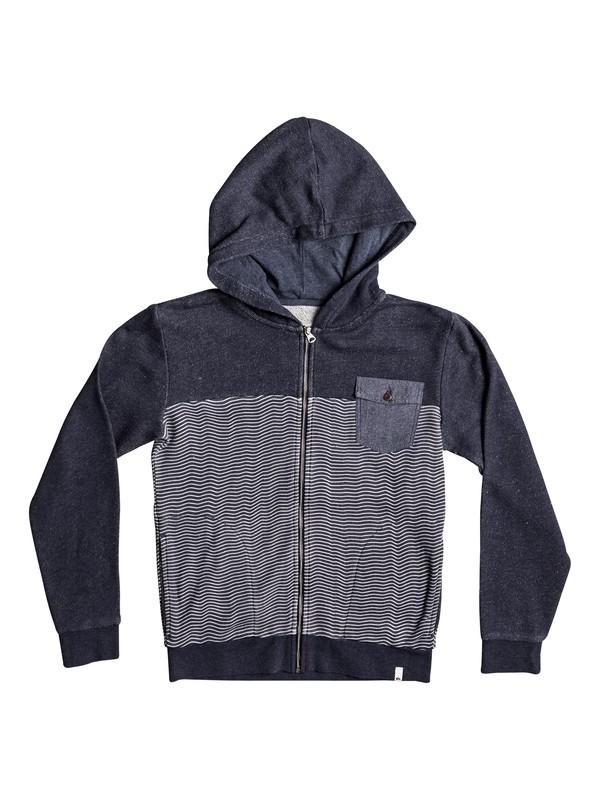 0 Mahatao - Sweat à capuche zippé Bleu EQBFT03393 Quiksilver