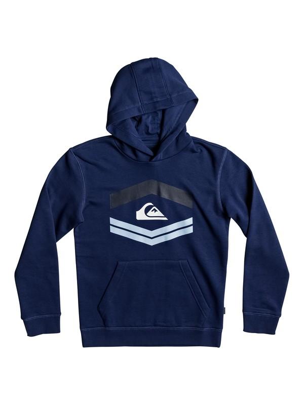0 Boy's 8-16 New Port Roca Hoodie Blue EQBFT03405 Quiksilver
