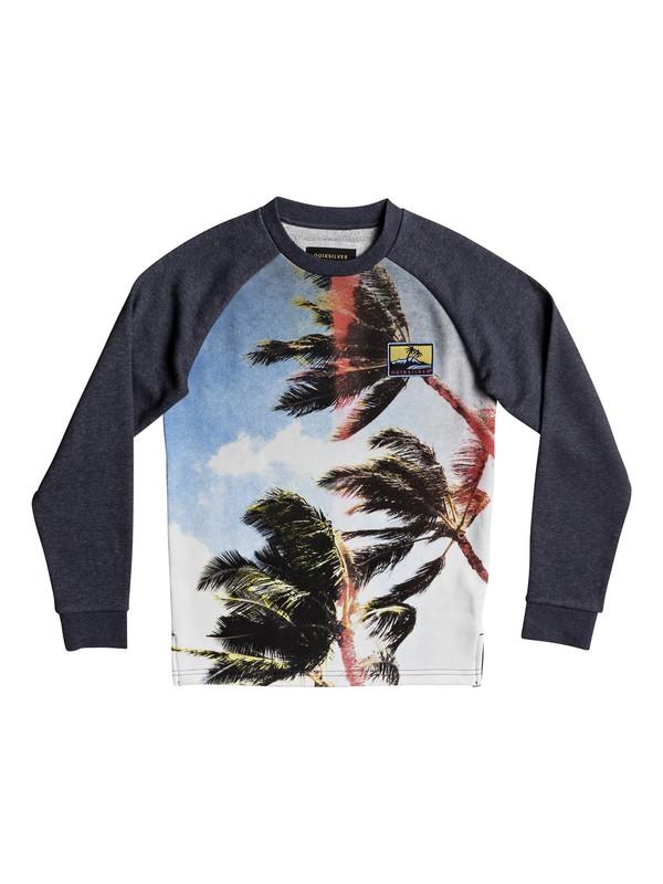 0 Vermeli - Sweatshirt Blue EQBFT03422 Quiksilver