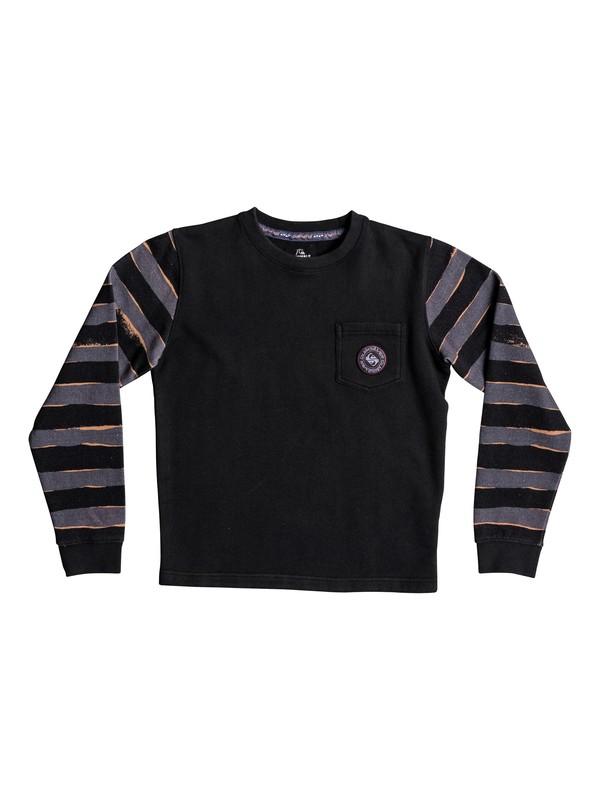 0 Wave Runner - Sweatshirt Black EQBFT03425 Quiksilver
