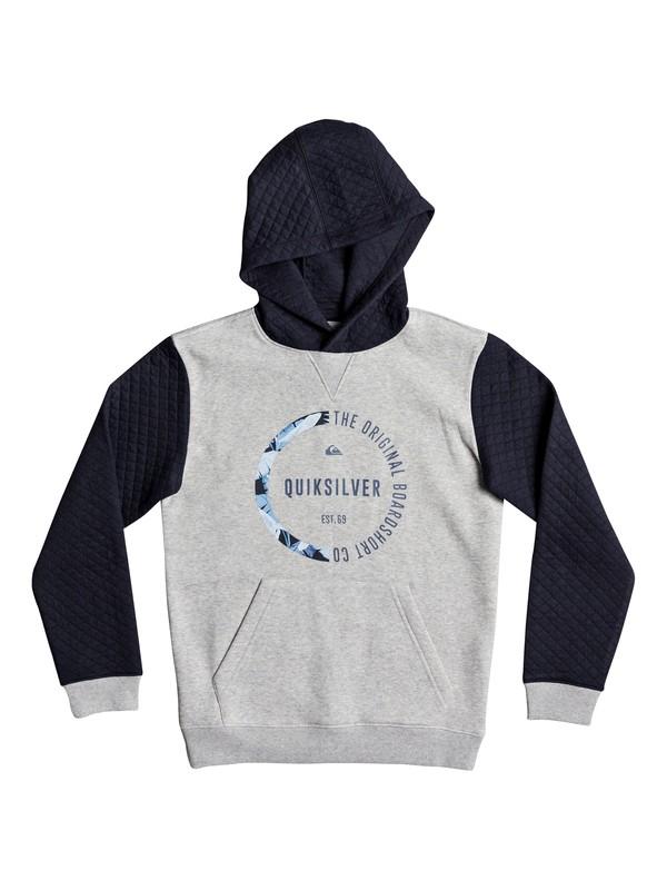 0 Bundsy - Sweat à capuche Bleu EQBFT03426 Quiksilver