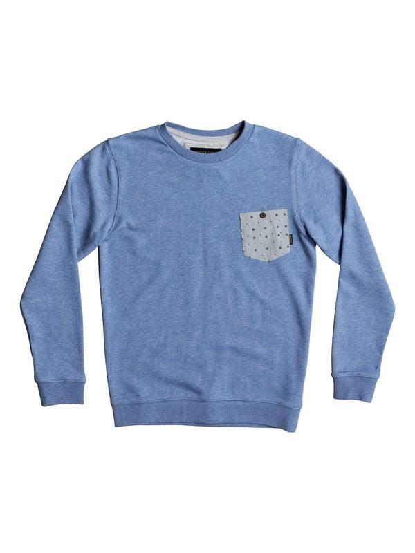 0 Calgara - Sweatshirt Blue EQBFT03444 Quiksilver