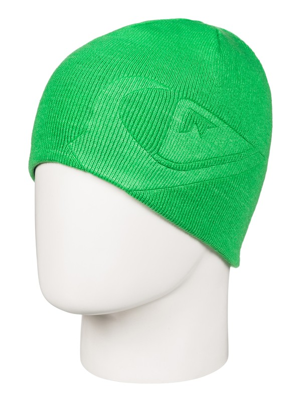 0 M&W - Reversible Beanie Green EQBHA03017 Quiksilver