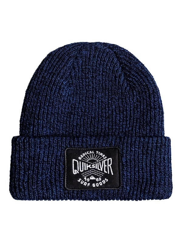 0 Performed Patch - Gorro Azul EQBHA03023 Quiksilver