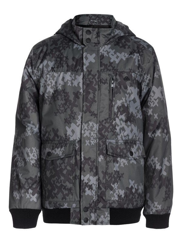 0 Corwall Print Youth  EQBJK03007 Quiksilver