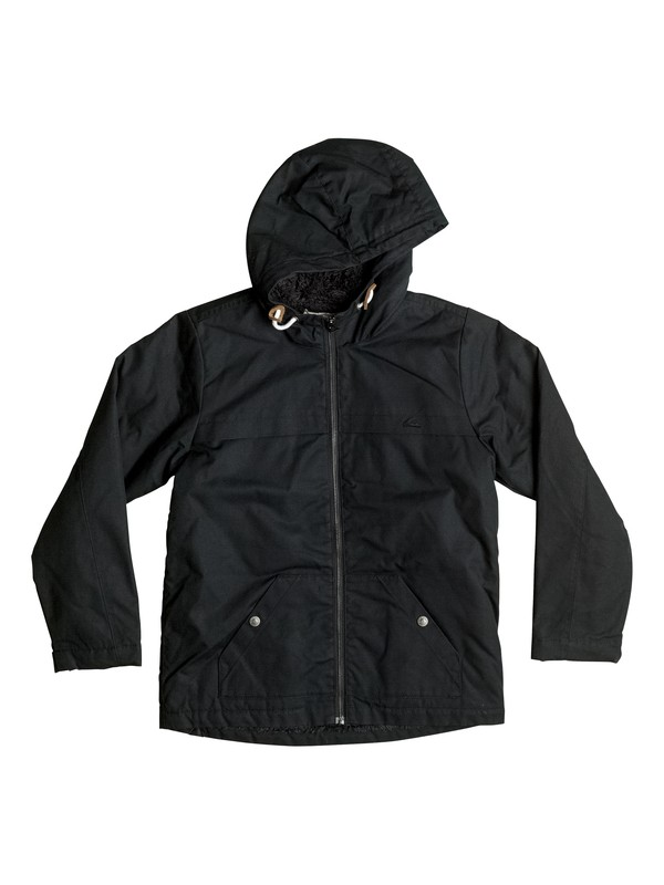 0 Wanna DWR - Jacket Black EQBJK03076 Quiksilver