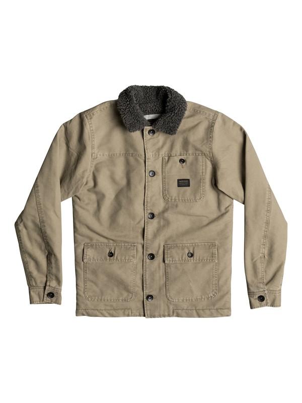0 Boy's 8-16 Quik Shade Jacket  EQBJK03088 Quiksilver