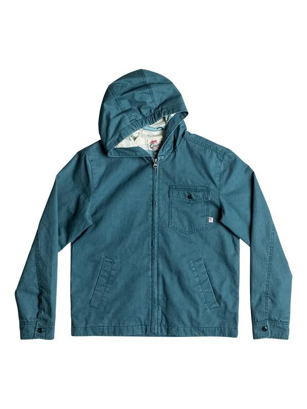 0 Maxson Shore - Veste à capuche Bleu EQBJK03116 Quiksilver