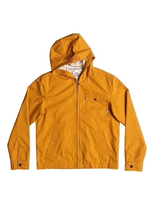 0 Maxson Shore - Veste à capuche Orange EQBJK03116 Quiksilver