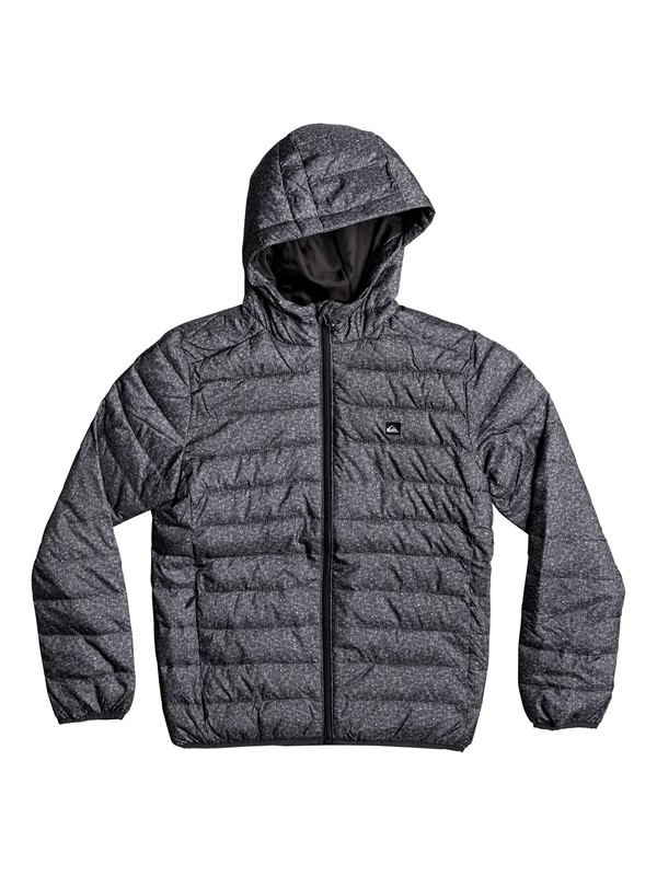 0 Scaly - Water-Repellent Insulated Jacket Black EQBJK03124 Quiksilver