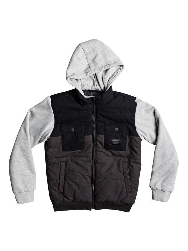 0 Orkney Block - Padded Jacket Black EQBJK03126 Quiksilver