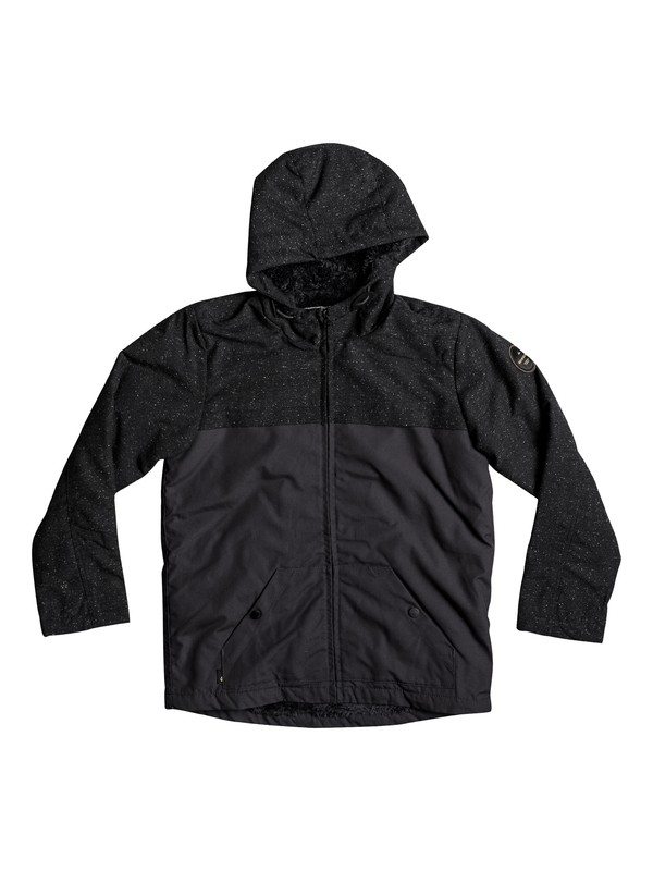 0 Wanna DWR - Water-Repellent Hooded Jacket Black EQBJK03136 Quiksilver