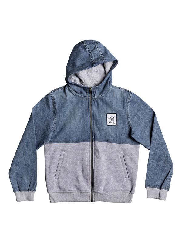 0 Parallex - Veste à capuche Bleu EQBJK03142 Quiksilver