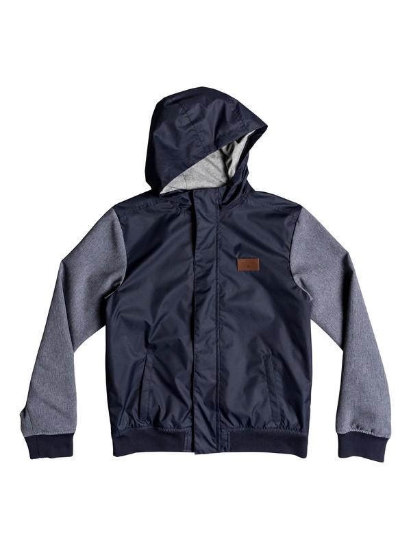 0 Visuka - Hooded Jacket Blue EQBJK03143 Quiksilver