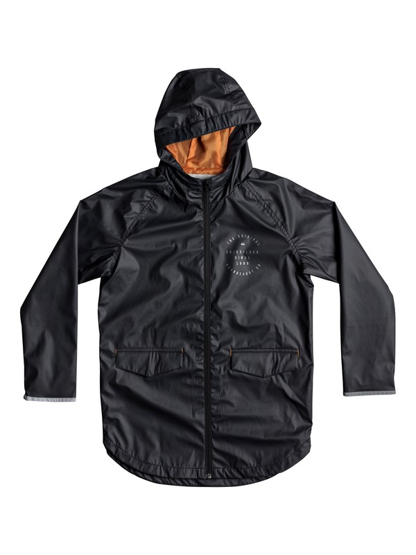 0 Geroka - Veste de pluie Noir EQBJK03144 Quiksilver