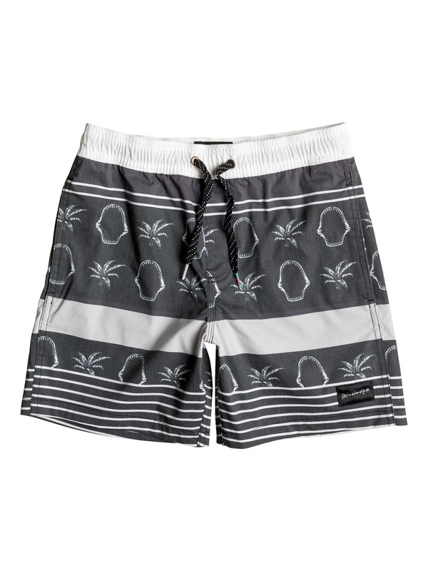 "0 Boy's 8-16 Swell Vision 14"" Volley Boardshorts  EQBJV03087 Quiksilver"