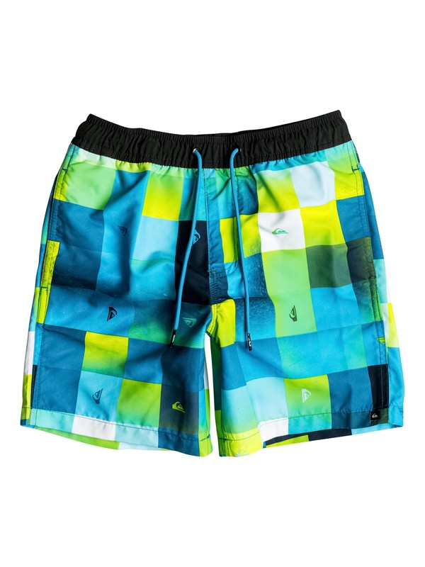"0 Check Mark 15"" - Short de bain Bleu EQBJV03096 Quiksilver"