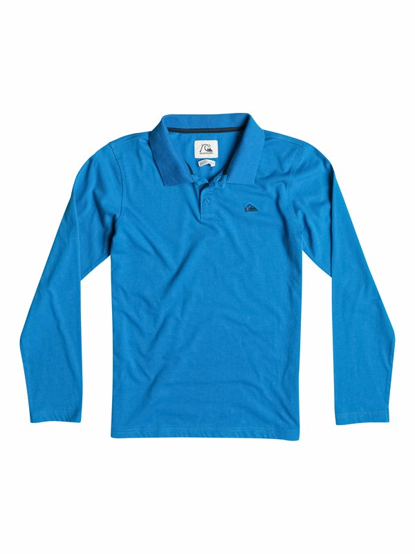 0 Moss Side - Polo manches longues  EQBKT03027 Quiksilver