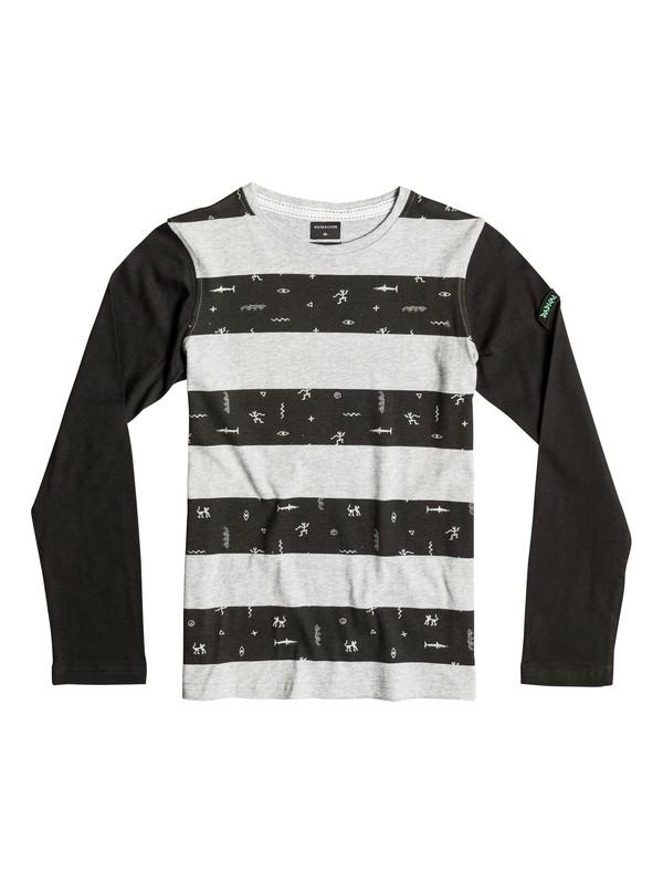 0 Under Siege - Tee-Shirt à manches longues Gris EQBKT03066 Quiksilver