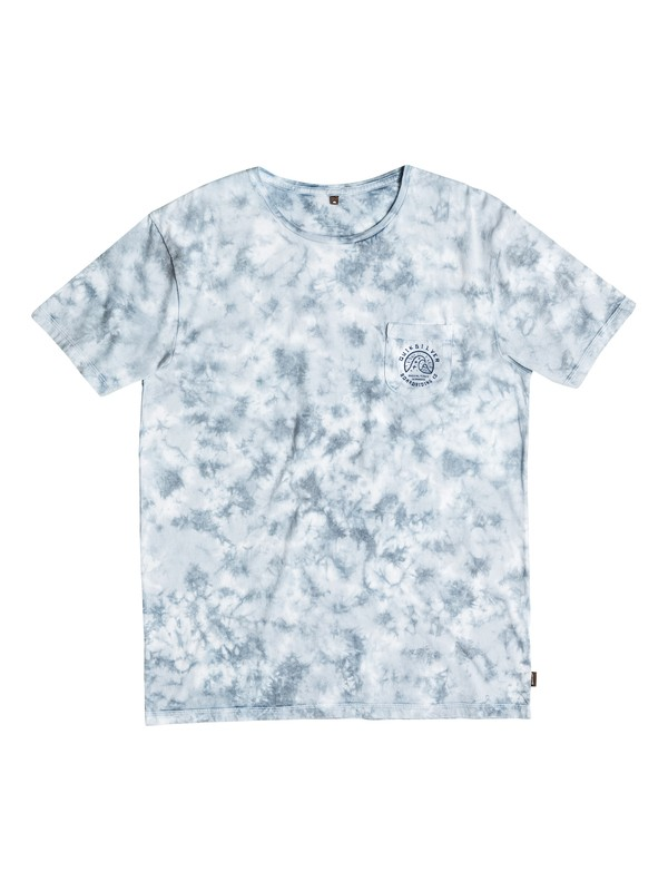 0 Washed Up - Tee-Shirt Bleu EQBKT03067 Quiksilver