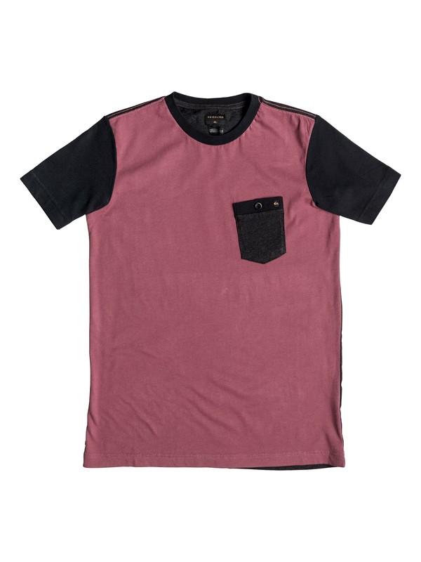 0 Baysic - Pocket-T-Shirt Rot EQBKT03074 Quiksilver