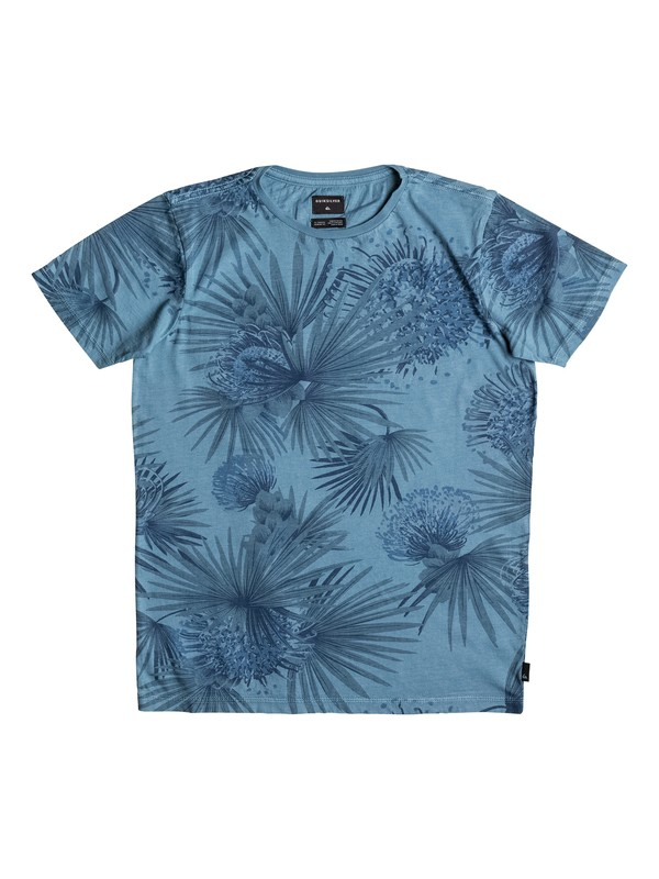 0 Over It - Tee-Shirt Bleu EQBKT03078 Quiksilver
