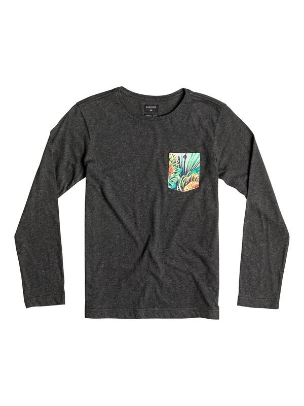 0 Loose Change - Tee-Shirt à manches longues Noir EQBKT03081 Quiksilver