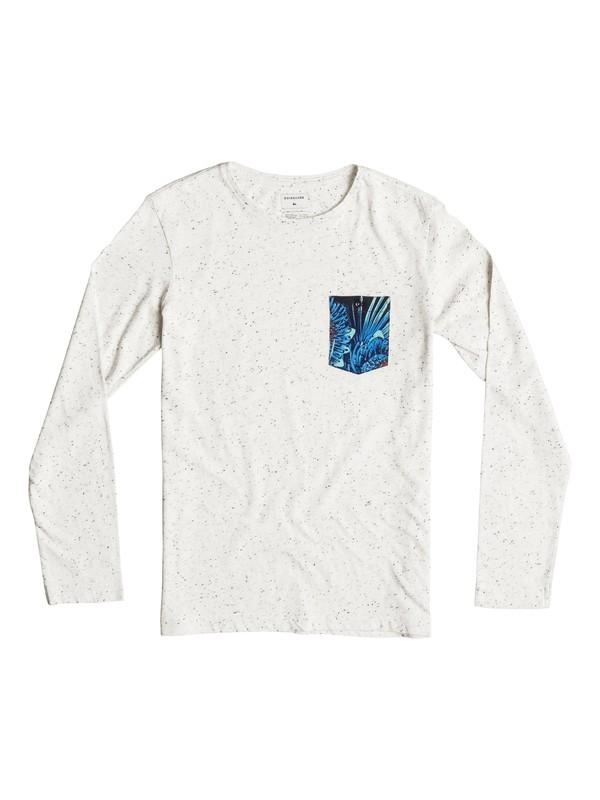 0 Loose Change - Tee-Shirt à manches longues Blanc EQBKT03081 Quiksilver