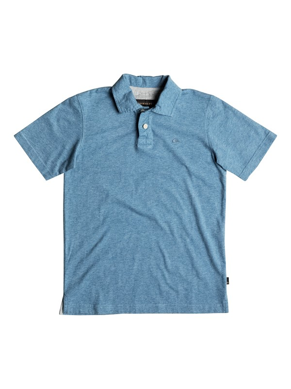 0 Boy's 8-16 Dry Harbour Polo Shirt  EQBKT03096 Quiksilver